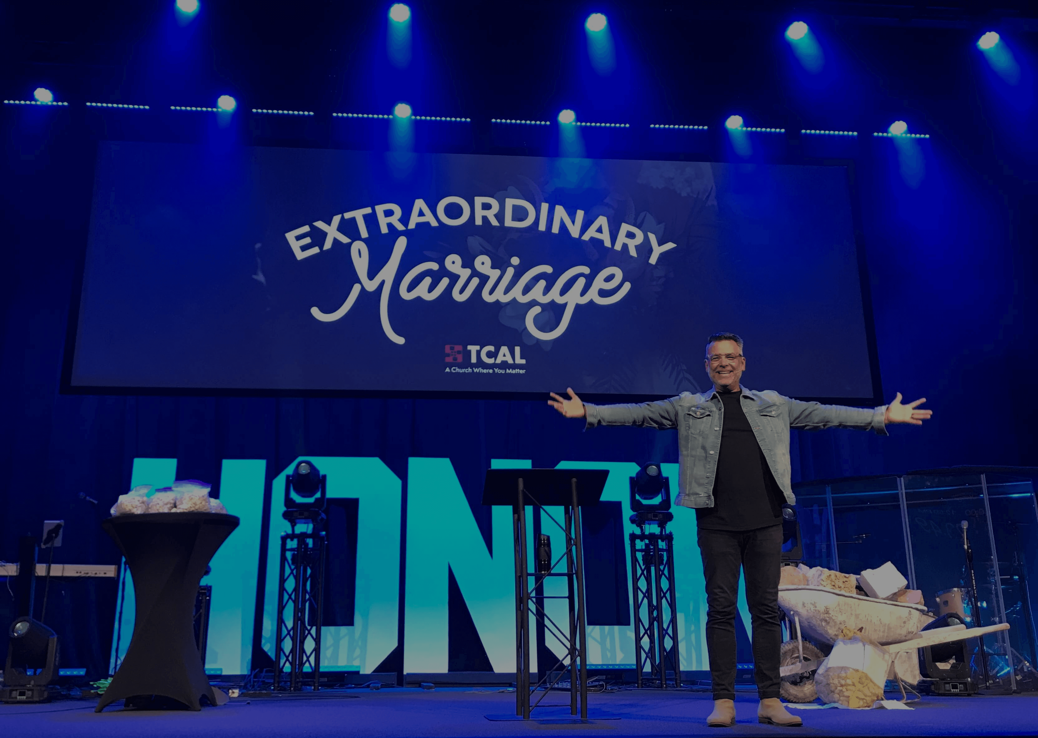 Pastor Paul Mints Preaching at TCAL church in Mansfield